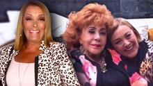 """Sylvia Pasquel no tiene una vida de """"lujos"""" y aclara que no busca la herencia de su madre Silvia Pinal"""