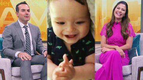 Baby Gael ríe a carcajadas con esta canción que Ana Patricia le cantó a Carlitos en el show