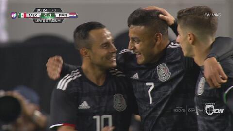 Gol de México, Luis Montes liquida la victoria