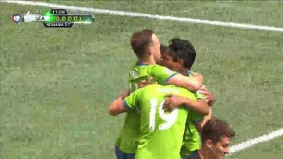 ¡GOOOL! Raúl Ruidíaz anota para Seattle Sounders FC