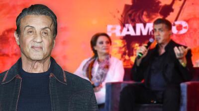 Rambo siempre ha sido muy fuerte, pero en su última película una mexicana lo pone en su sitio