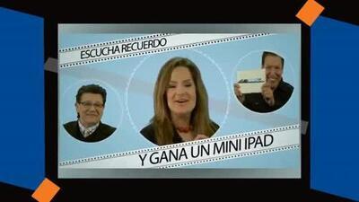 Ganate un Mini iPad escuchando Recuerdo 106.5!
