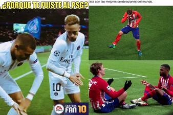 Memes de Barcelona, Neymar y el mejor humor de la Champions League
