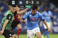 Gris derrota para Napoli e Hirving Lozano ante Sassuolo