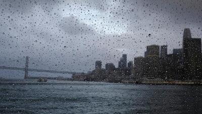 Tres ríos atmosféricos tardíos traerán tormentas durante siete días al Área de la Bahía