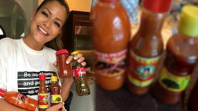 Ana Patricia revela las peculiares salsas que le mandó su papá de México