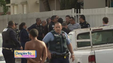 Atrincheramiento en residencial de Guaynabo provoca una gran movilización de la Policía
