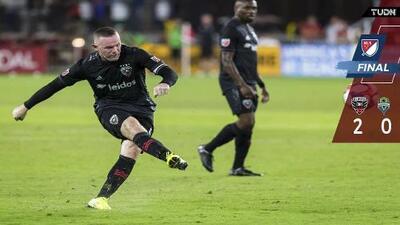 La picardía de Wayne Rooney a balón parado selló triunfo del DC United