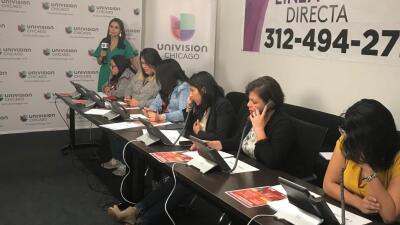 Decenas de miles de consultas fueron atendidas en los bancos telefónicos en apoyo a los dreamers