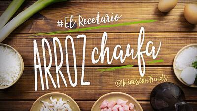 Arroz chaufa peruano #ElRecetario