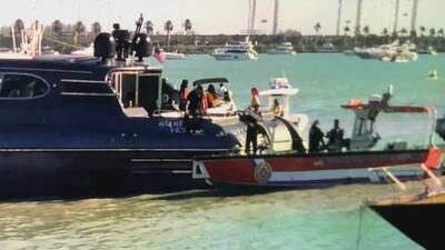 Encuentran muerto a un hombre que había desaparecido de un yate en Miami Beach