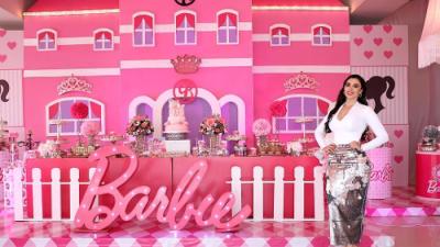 La extravagante fiesta de Barbie que tuvieron las hijas de 'El Chapo' causa indignación en México
