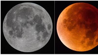 ¿En dónde se verá el eclipse total de luna?