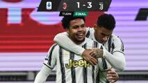 ¡Adiós invicto! Weston McKennie marca gol en triunfo ante Milan