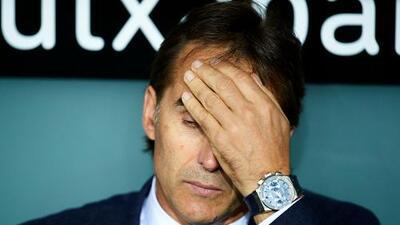 ¿Quién como sustituto? El Real Madrid quiso despedir a Lopetegui tras perder con el Alavés