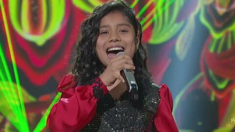 La primera calificación perfecta de Adilene al cantar 'Mi Tierra' de Gloria Estefan