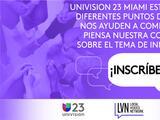 Univision 23 Miami realiza conversaciones públicas sobre inmigración para una democracia más fuerte