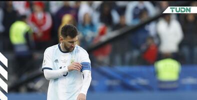 Jugadores de Argentina, en llanto por Messi