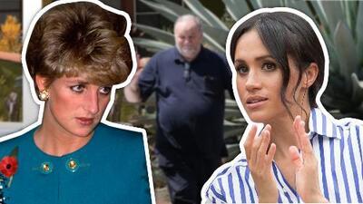 Meghan Markle es víctima de insultos por parte de su padre (ni Lady Diana se salvó)