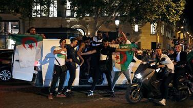 Detienen en Francia a 198 personas por altercados tras el campeonato de Argelia