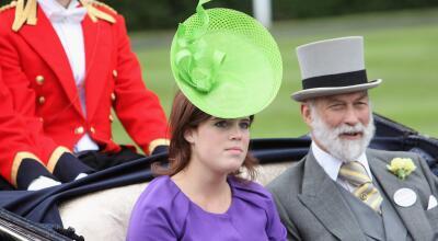 Si se viste como acostumbra, así podría ser el vestido de novia de la princesa Eugenie