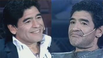Su adicción a las drogas y el amor de su vida: la entrevista que Maradona se hizo a sí mismo en la televisión argentina