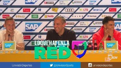 ¡La mejor conferencia de prensa! Niños divierten con sus inocentes preguntas a plantel del Hoffenheim