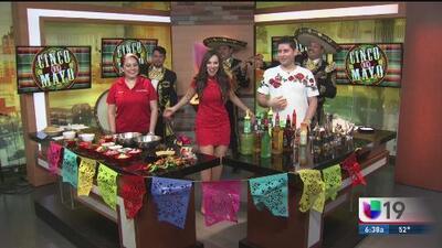 Platillos y bebidas para celebrar el 5 de mayo