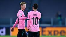 """De Jong se rinde ante Messi: """"El mejor de la historia"""""""