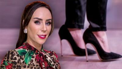 Stilettos de aguja y una 'ponytail', Inés Gómez Mont enamora en el segundo episodio de FFF
