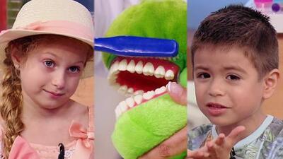 A los niños les preocupa quedarse chimuelos, por eso les explicamos cómo cuidarse los dientes