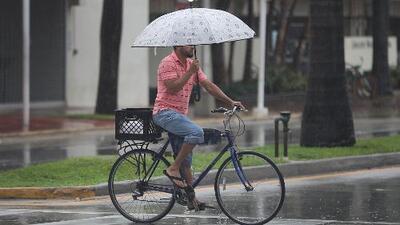 Se esperan chubascos y tormentas eléctricas para la tarde de este lunes en Miami