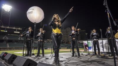El Grito de Independencia de México en Fresno
