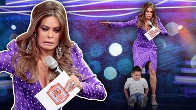 (Lo que no viste en el show) Galilea Montijo le enseña a Giovani cómo usar una patineta ¡en tacones!