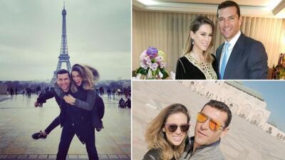 Jacky Bracamontes y Martín Fuentes están disfrutando de su amor en París