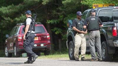 La intensa búsqueda de David Sweat en una zona boscosa