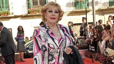 Silvia Pinal anuncia que saldrá del hospital en unas horas