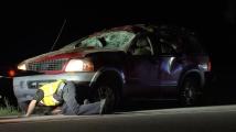 Camioneta se volca y muere una niña de 7 años en Fayetteville
