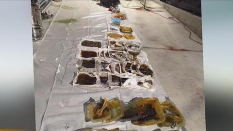 Arrestan a dos sospechosos en una operación contra la fabricación de aceite de marihuana