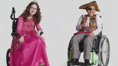 Ponen a la venta disfraces para niños con condiciones especiales