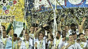 Atlético Nacional goleó a Deportivo Calí y se coronó campeón del fútbol colombiano