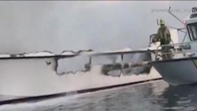 El dueño del barco incendiado en California asegura que los tripulantes intentaron salvar a los pasajeros