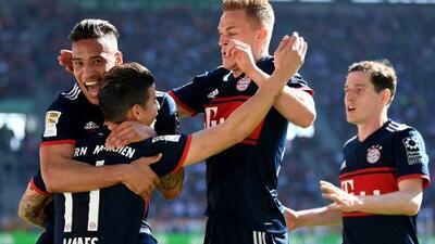 Cero y van seis… ¡Bayern campeón de la Bundesliga!
