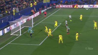 ¡Imperdonable falla! Bas Dost perdonó al Villarreal y condenó al Sporting