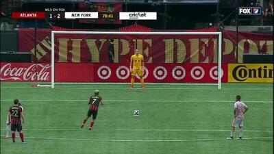 Josef Martínez convierte tiro desde el punto penal y da empate al Atlanta United
