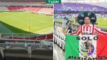 Chivas invita al palco a aficionado que fue sacado del estadio