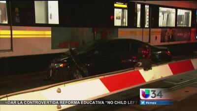 Accidente en la vía del Metrolink en Los Angeles