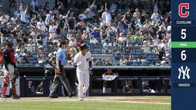 Yankees vencen a Indians en homenaje a Mariano Rivera