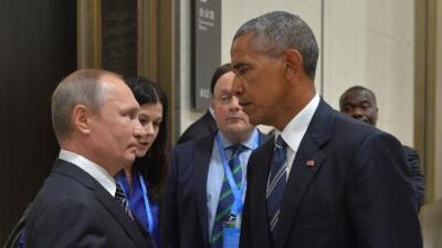 En fotos: Las expresiones que revelan la relación entre Putin y Obama
