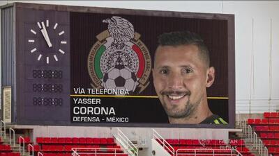 """Yasser Corona: """"Será una convocatoria criticada pero voy con todo a disfrutarlo"""""""